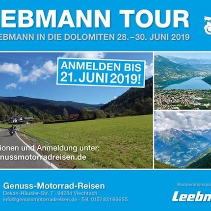 Motorrad Leebmann Tour 2019 Weitere Informationenhier.>hier zum Tour-Flyer (PDF-Download)