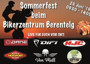 Motorrad Termin Sommerfest beim Bikerzentrum Berentelg