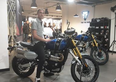 Motorrad Termin DAY OF DOORS OPEN FOR DRIVING TEST SCRAMBLER 1200