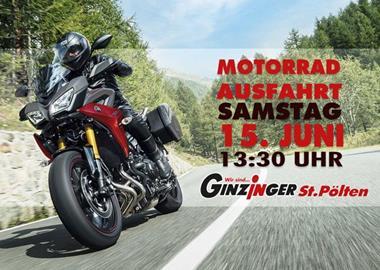 Motorrad Termin Motorradausfahrt Ginzinger St. Pölten