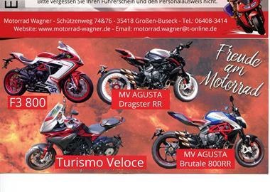 Motorrad Termin Probefahrt Event