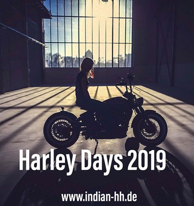 Legendary Cycles Hamburg Chapter zu den Hamburg Harley Days
