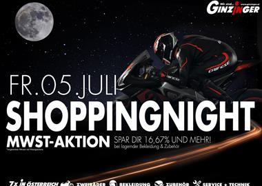Motorrad Termin Ginzinger Shopping Night