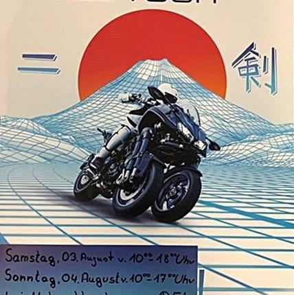 YAMAHA NIKEN Tour > > > SAFE THE DATEAm Samstag den 03.08. und Sonntag den 04.08.2019  habt Ihr die Möglichkeit eine geführte NIKEN Tour mit zu machen. Diese Tour wi...