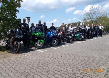 Motorrad Termin Alte Töpferei in Kampehl