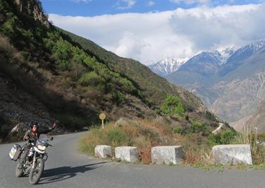 Motorrad Termin Reisevortrag - China