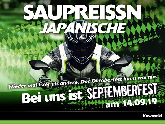 Septemberfest beim Bikerzentrum Berentelg