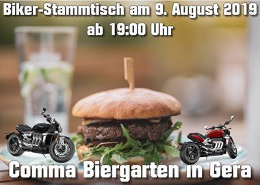 Motorrad Termin Biker-Stammtisch in Gera