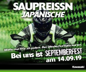 Motorrad Termin Kawasaki Septemberfest 2019