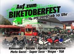 Motorrad Termin Biketoberfest 14.09.2019