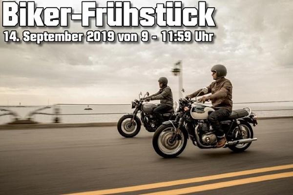 Motorrad Termin Biker-Frühstück bei Triumph Gera
