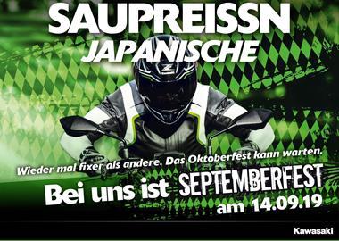 Motorrad Termin Kawasaki Septemberfest 2019 bei BPR-Bikes
