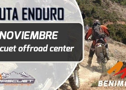 EVENTOS Ruta Enduro BENIMOTO (Pascuet Off Road) 17 Noviembre