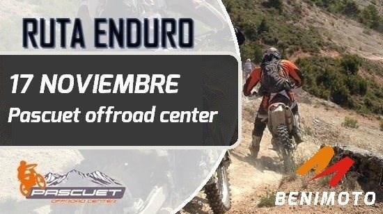 Ruta Enduro BENIMOTO (Pascuet Off Road) 27 Octubre
