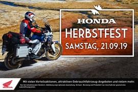 Motorrad Termin Honda Herbstfestival