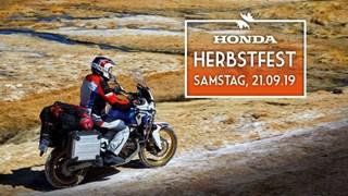 Motorrad Termin Honda Herbstfest