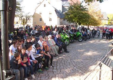 Motorrad Termin Bikergottesdienst in Geringswalde