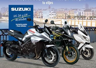 Motorrad Termin Suzuki Test Weekend