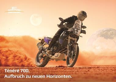 Motorrad Termin Yamaha XT700Z Ténéré – Live und in Farbe!