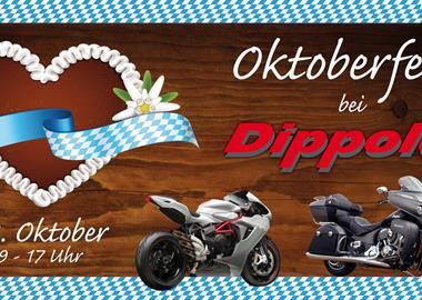 Motorrad Termin Oktoberfest bei Dippold