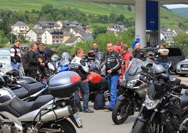Motorrad Termin Kundenausfahrt