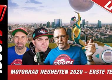 Motorrad Termin 1000PS Live EICMA-Special: Zonko, Vauli und Horvath berichten