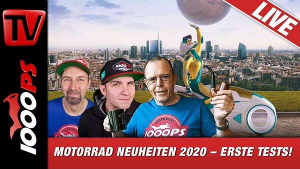 1000PS Live EICMA-Special: Zonko, Vauli und Horvath berichten