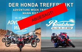 Motorrad Termin  - ABGESAGT - GEDE Roadshow 2020