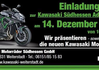 Motorrad Termin Kawasaki Südhessen Adventsschau 2019