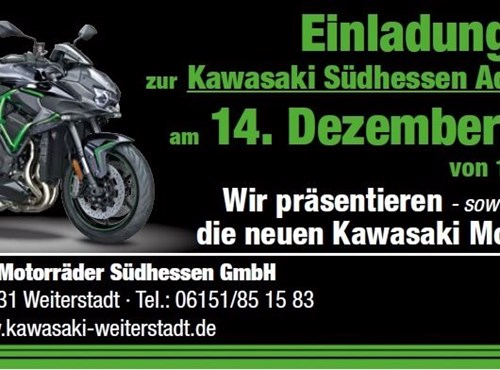 Kawasaki Südhessen Adventsschau 2019