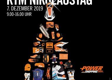 Motorrad Termin KTM NIKOLAUSTAG / ZWEIRAD KOSAK