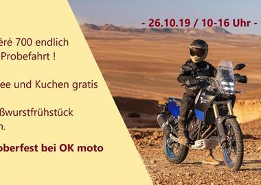 Motorrad Termin Oktoberfest 2019 @ OK moto