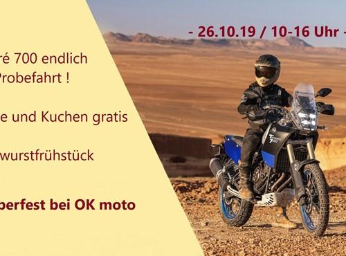 Oktoberfest 2019 @ OK moto