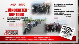 """Motorrad Termin """"Zündkatzen auf Tour"""" /  Termin Bekanntgabe  im Frühjahr"""
