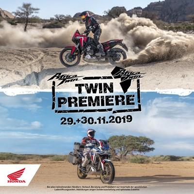 Honda Semmler - Africa Twin 1100 Premiere