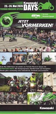 Motorrad Termin Kawasaki Days 2020