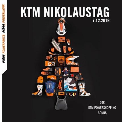 KTM Nikolaustag bei Motobike Bregenz Wir laden alle recht herzlich zu unserem traditionellenKTM Nikolaustag ein.9 - 17 Uhr durchgehend geöffnet!!!Für's leibliche Wohl ist ebenfalls ges...