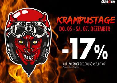 Motorrad Termin Krampustage und Prozente :)