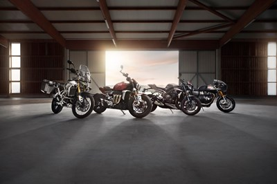 Triumph New Model Launch