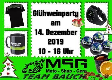 Motorrad Termin Glühwein-Party bei MSG