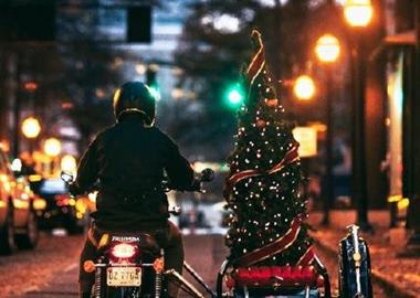 Motorrad Termin Biker-Stammtisch auf dem Weihnachtsmarkt