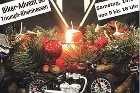 Biker-Advent bei Triumph Rheinhessen anzeigen