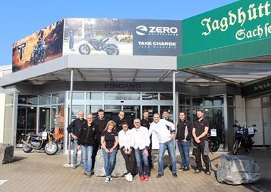 Motorrad Termin Saisonstart bei Triumph Chemnitz