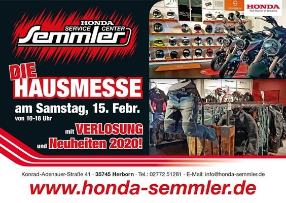 Honda Semmler - DIE HAUSMESSE