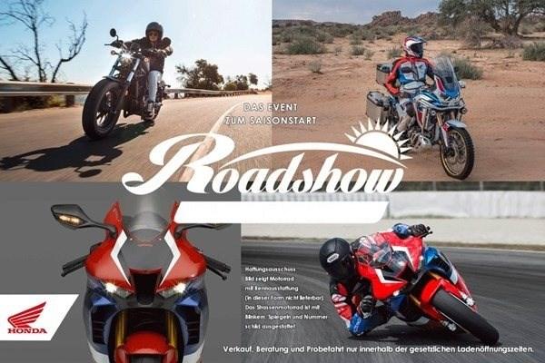 Motorrad Termin Honda-Roadshow 2020
