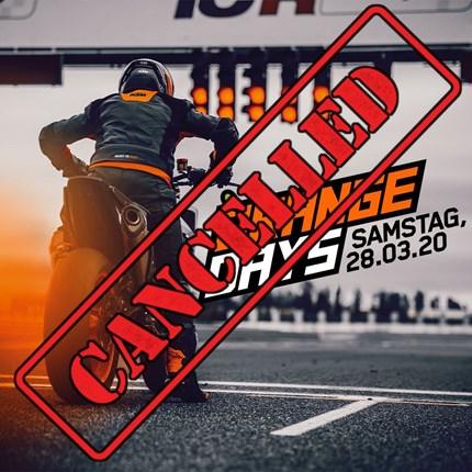 KTM ORANGEDAY 2020 KTM ORANGE DAYS 2020 am 28. März 2020**Aufgrund der aktuellen Situation und des amtlichen Veranstaltungsverbotes der Stadt Bayreuth, bezüglich SARS...