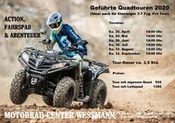 Motorrad Termin Geführte Quadtour