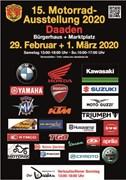 Motorrad Termin Motorradausstellung in Daaden am 29.Februar und 1.März 2020