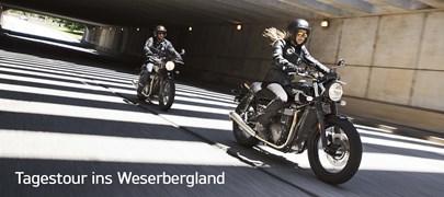 Motorrad Termin TAGESTOUR INS WESERBERGLAND