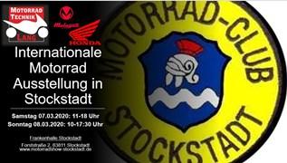 Motorrad Termin Internationale Motorradausstellung Stockstadt